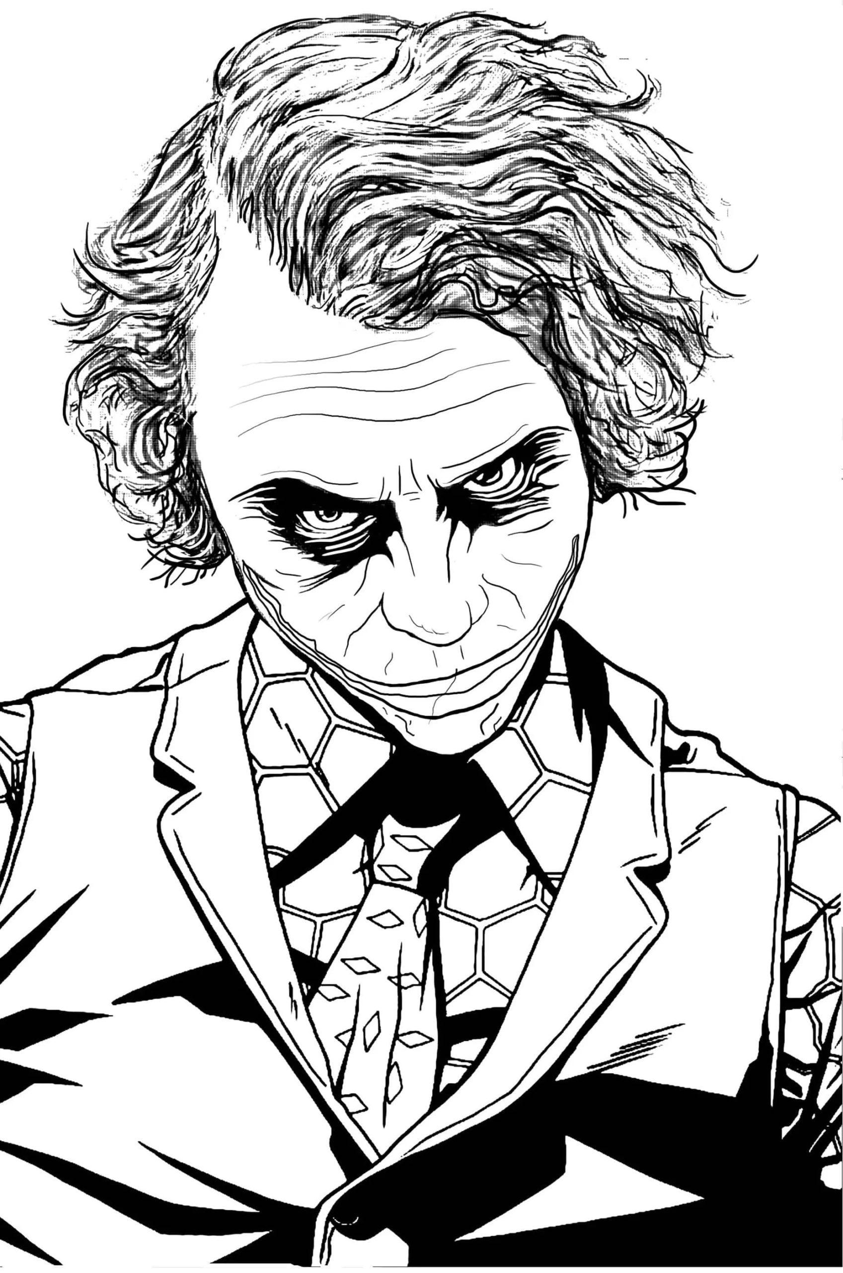Ausmalbilder Joker  8 Besten Malvorlagen zum Kostenlos Ausdrucken