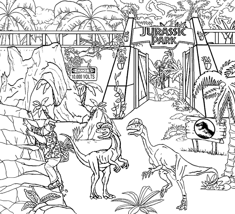 Ausmalbilder Jurassic World 60 Malvorlagen Zum Kostenlosen Drucken