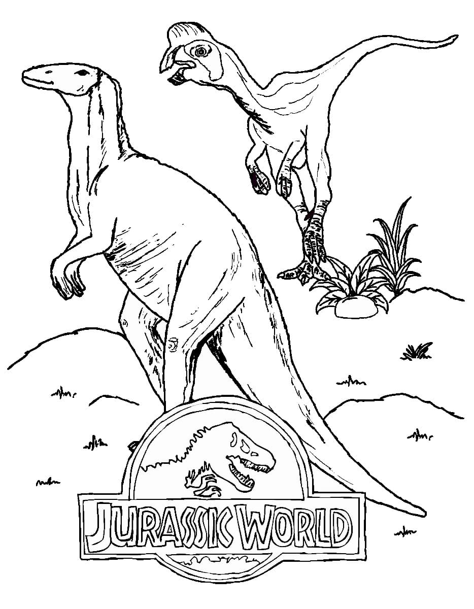 Jurassic World Coloring Pages 60 Images Free Printable