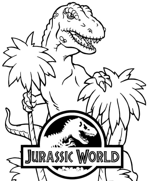 malvorlage ausmalbilder dinosaurier jurassic world
