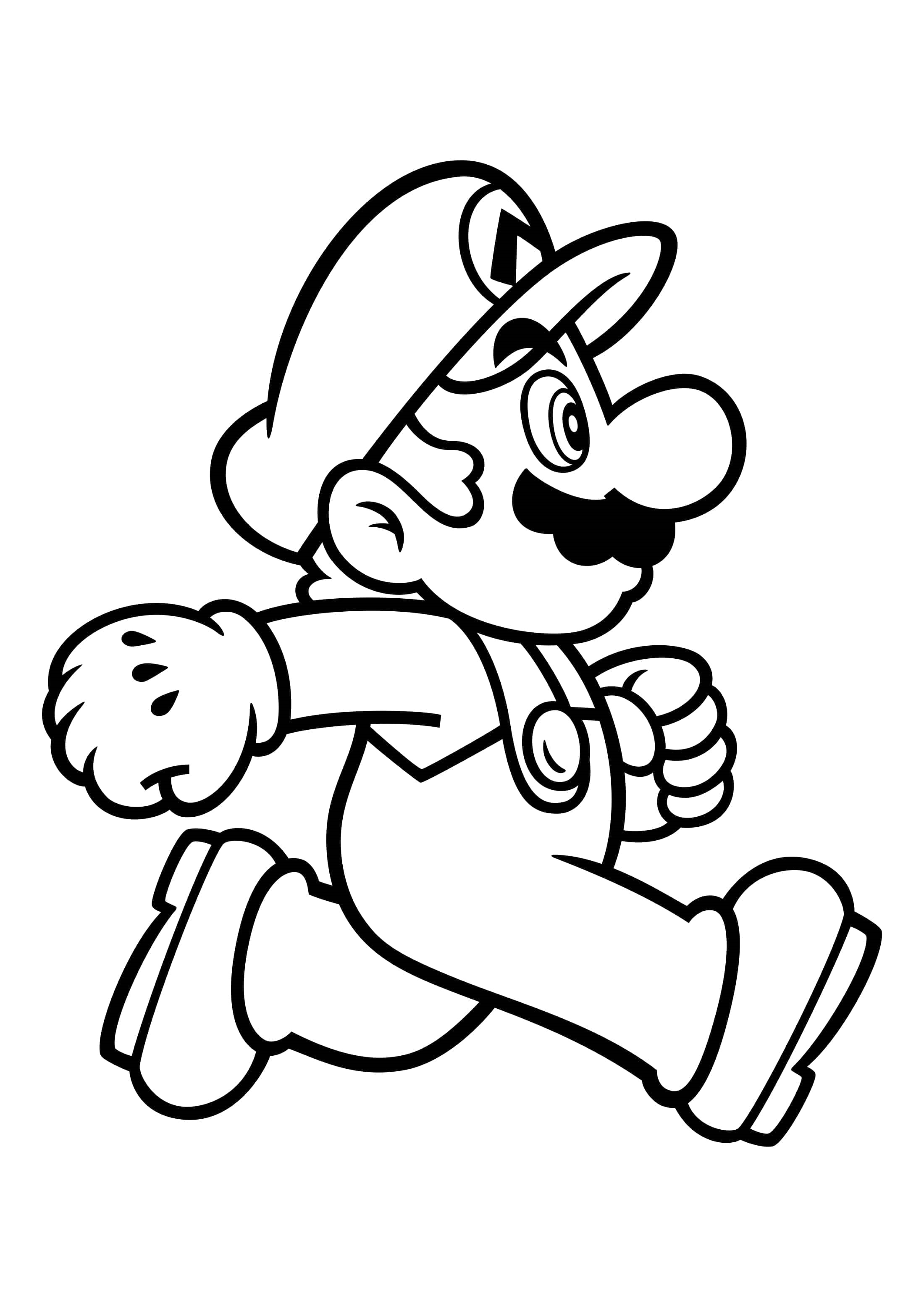 Mario Coloring Pages 100 Best Pictures Free Printable