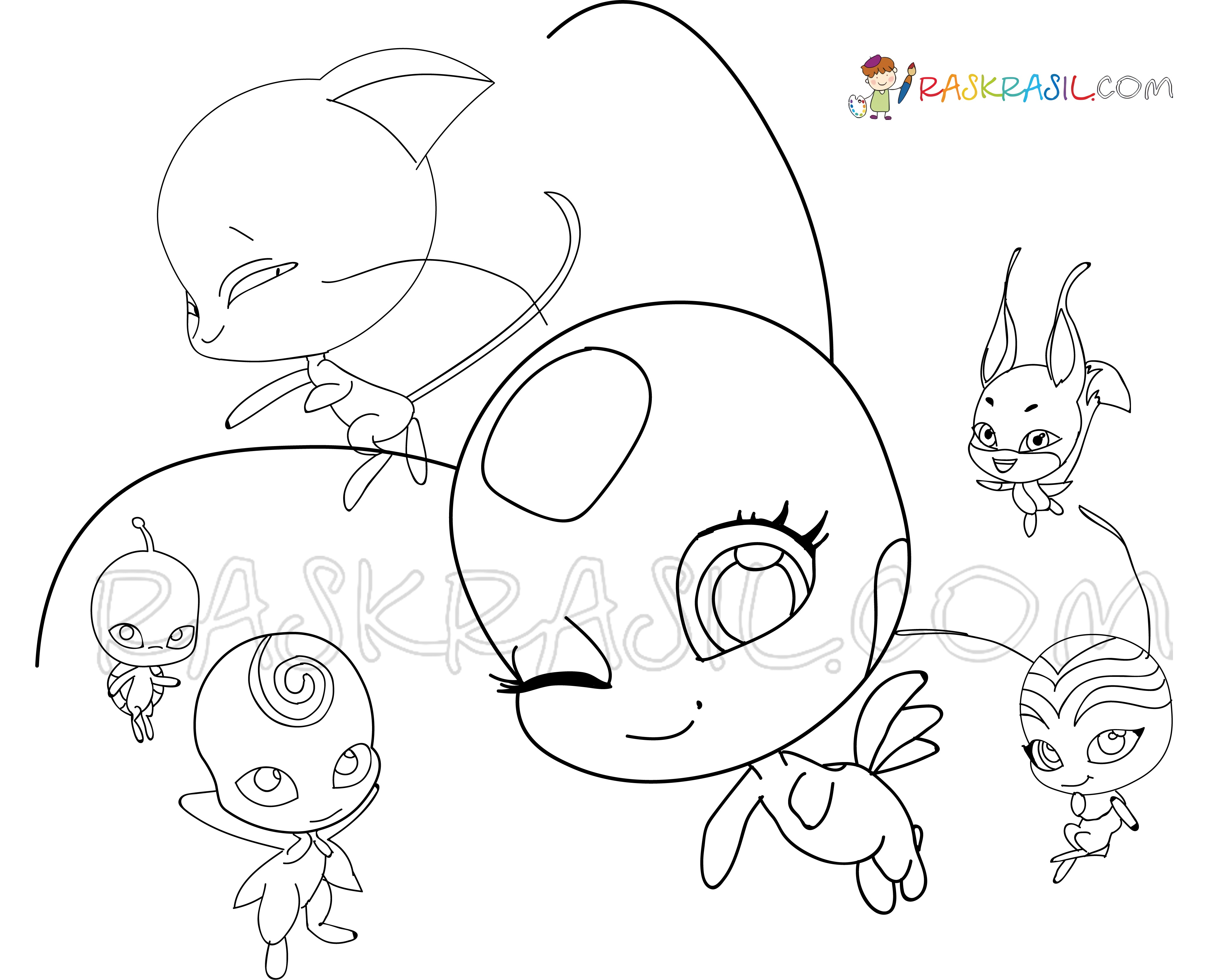 Miraculous Ladybug Coloring Pages.75 Free Printable Images