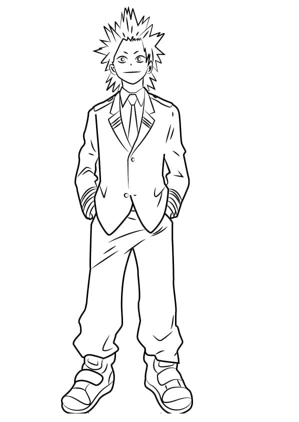 My Hero Academia Coloring Pages 70 Images Free Printable