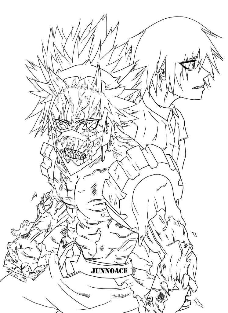 My Hero Academia Coloring Pages 80 Pictures Free Printable