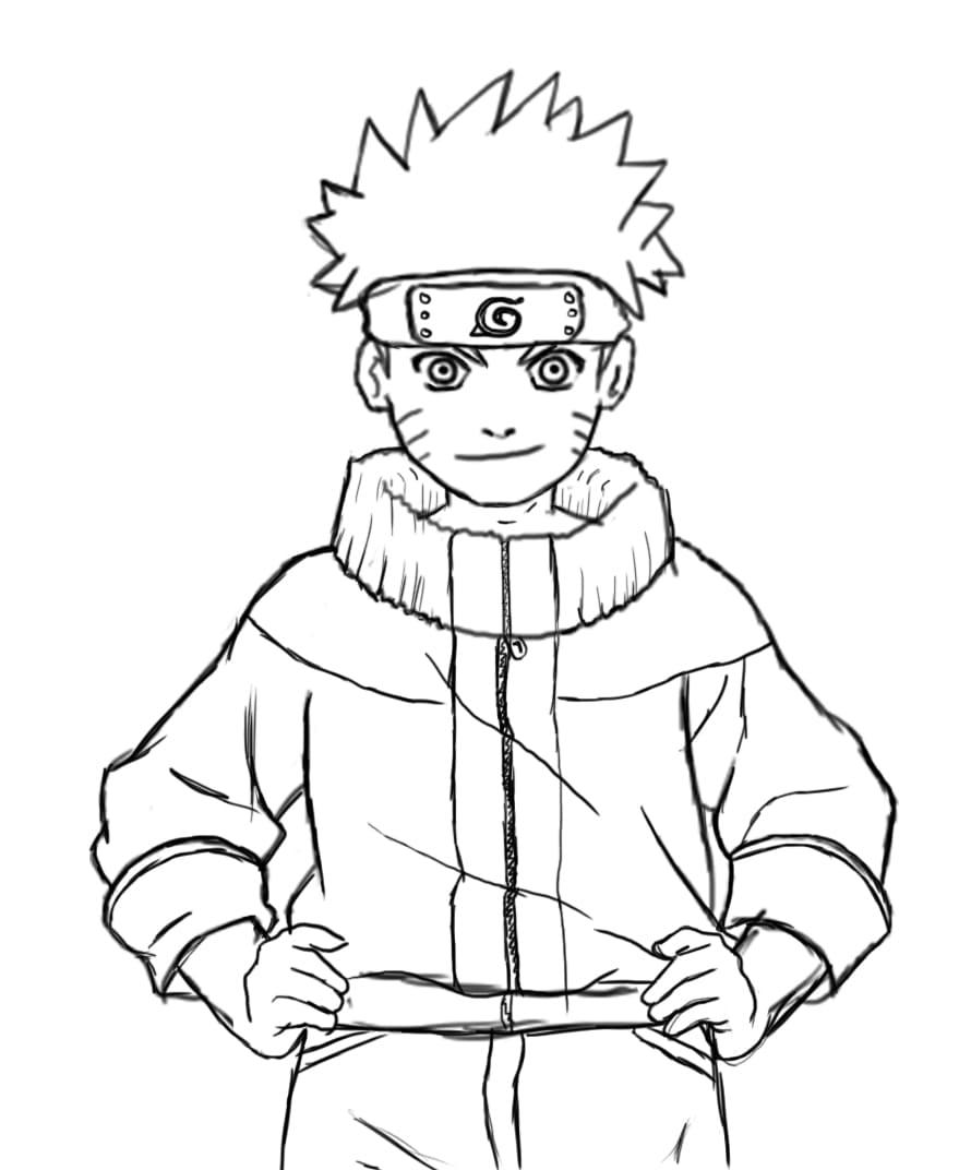 Ausmalbilder Naruto  30 Malvorlagen zum kostenlosen Drucken