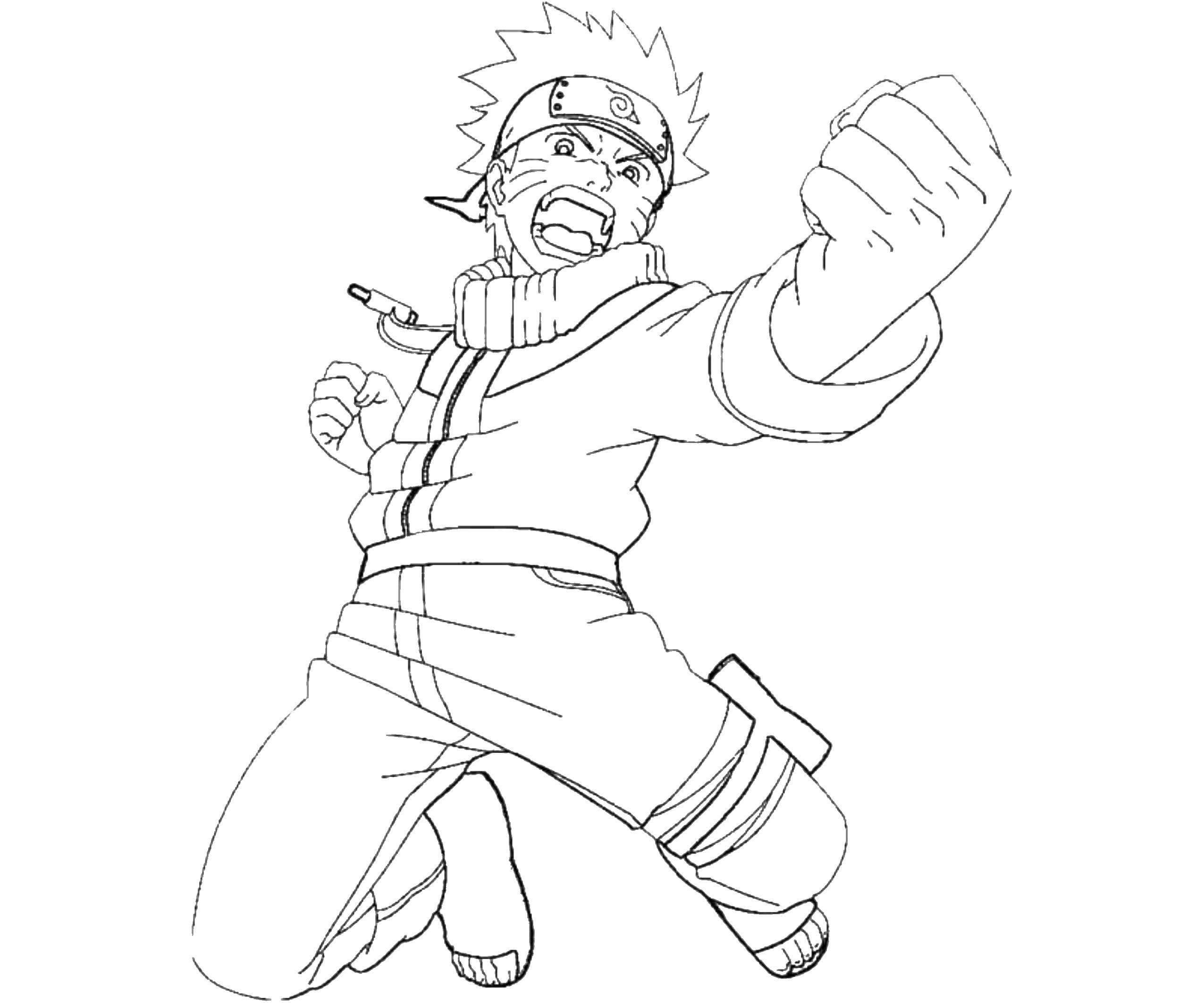 Ausmalbilder Naruto  11 Malvorlagen zum kostenlosen Drucken
