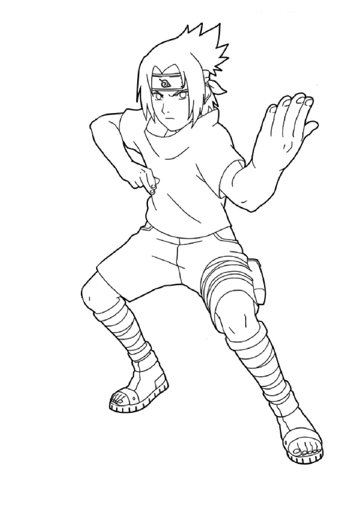 Naruto Coloring Pages 100 Images Free Printable