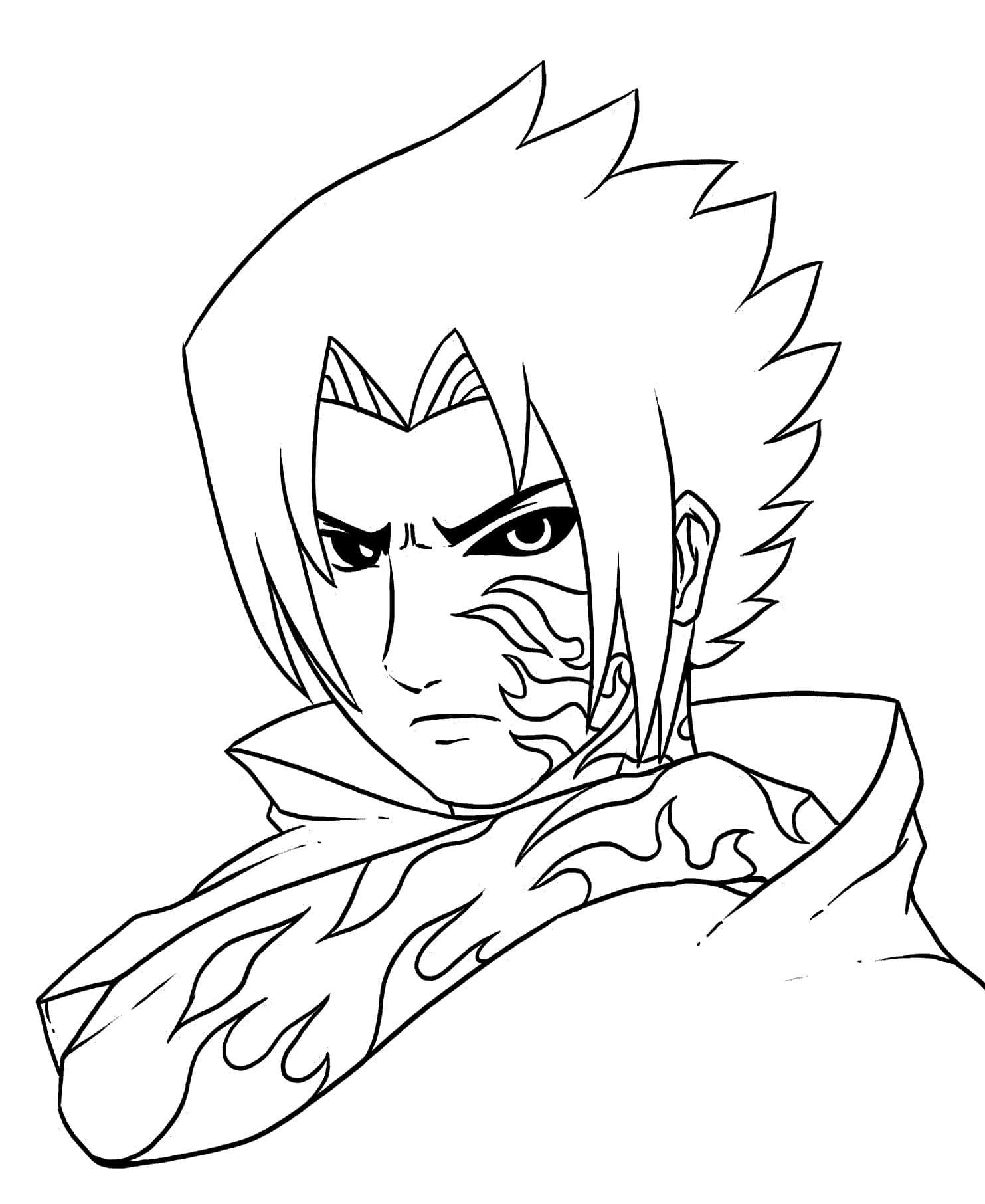 Sasuke Uchiha Naruto Ausmalbilder / Ausmalbilder Naruto 20