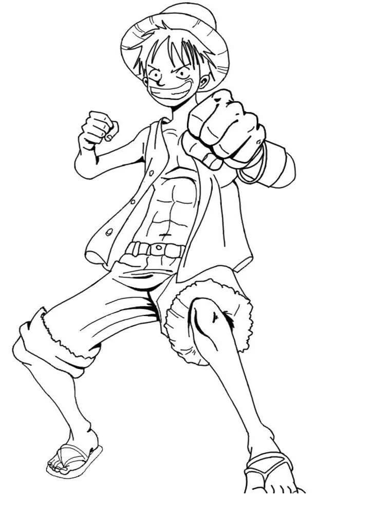 One Piece Coloring Pages 90 Images Free Printable