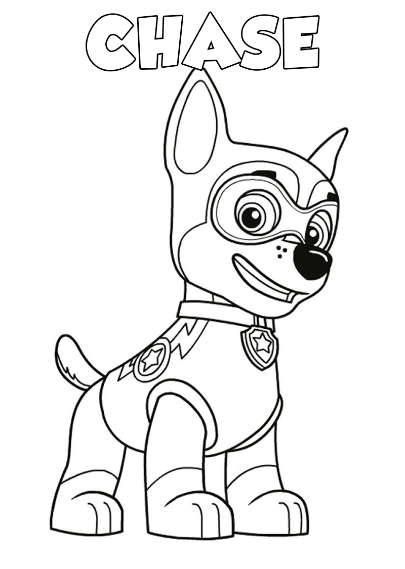 Paw Patrol Coloring Pages 120 Pictures Free Printable