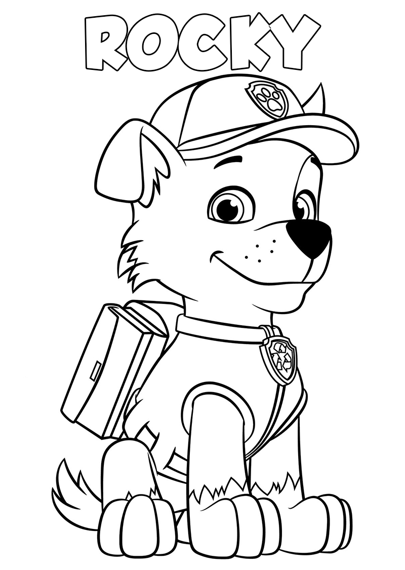 Paw Patrol Coloring Pages  10 Pictures Free Printable