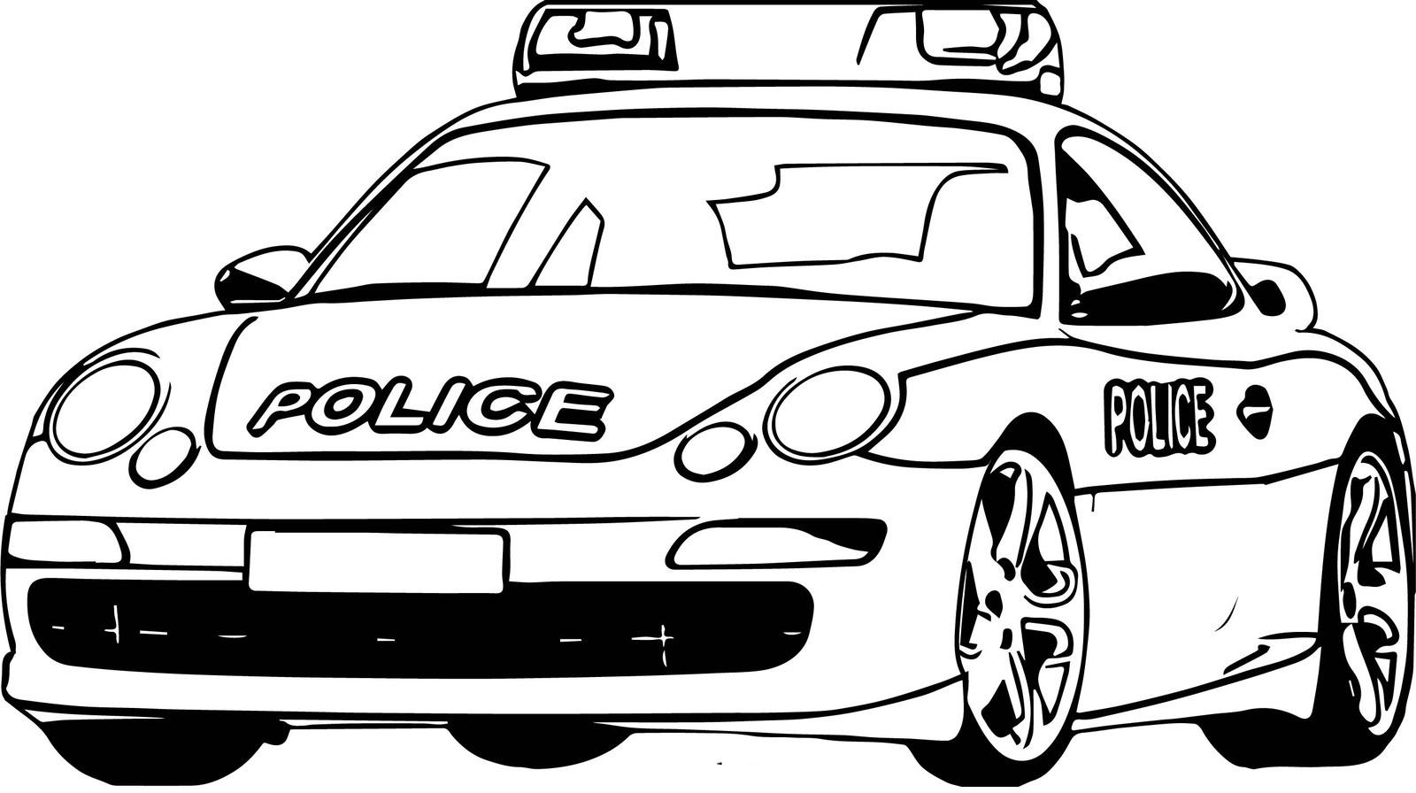 polizeiauto ausmalbild  ausmalbilder polizeiauto bei