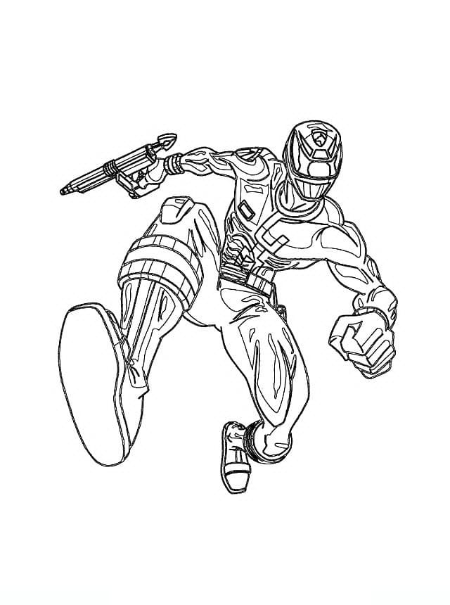 Power Rangers Coloring Pages 100 Images Free Printable