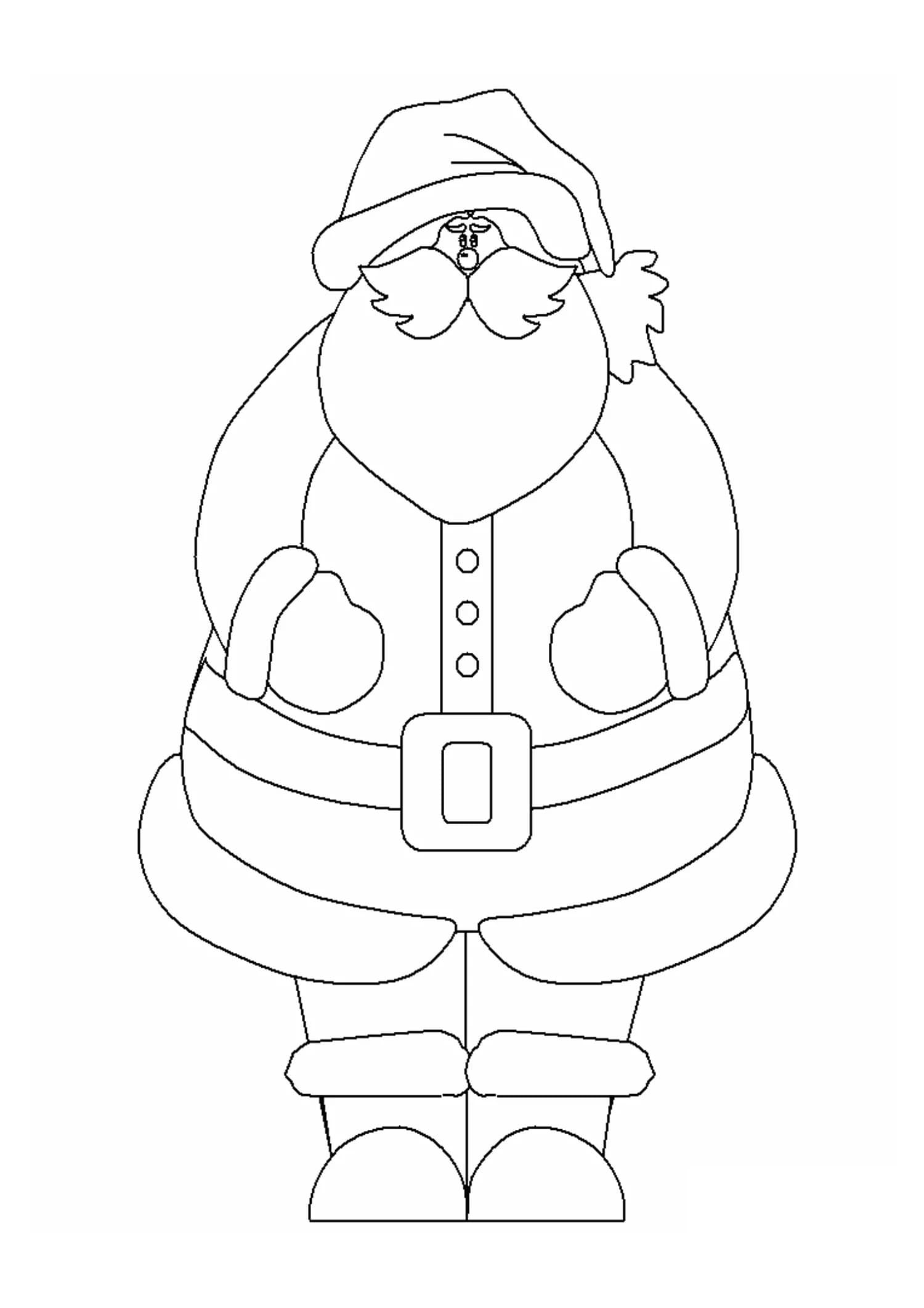 Bambini Babbo Natale Disegno.Disegni Di Babbo Natale Da Colorare 100 Immagini Per La Stampa Gratuita