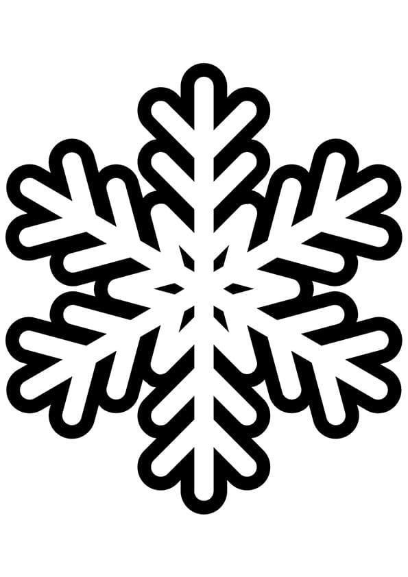 Ausmalbilder Schneeflocke 100 Bilder Zum Kostenlosen Drucken