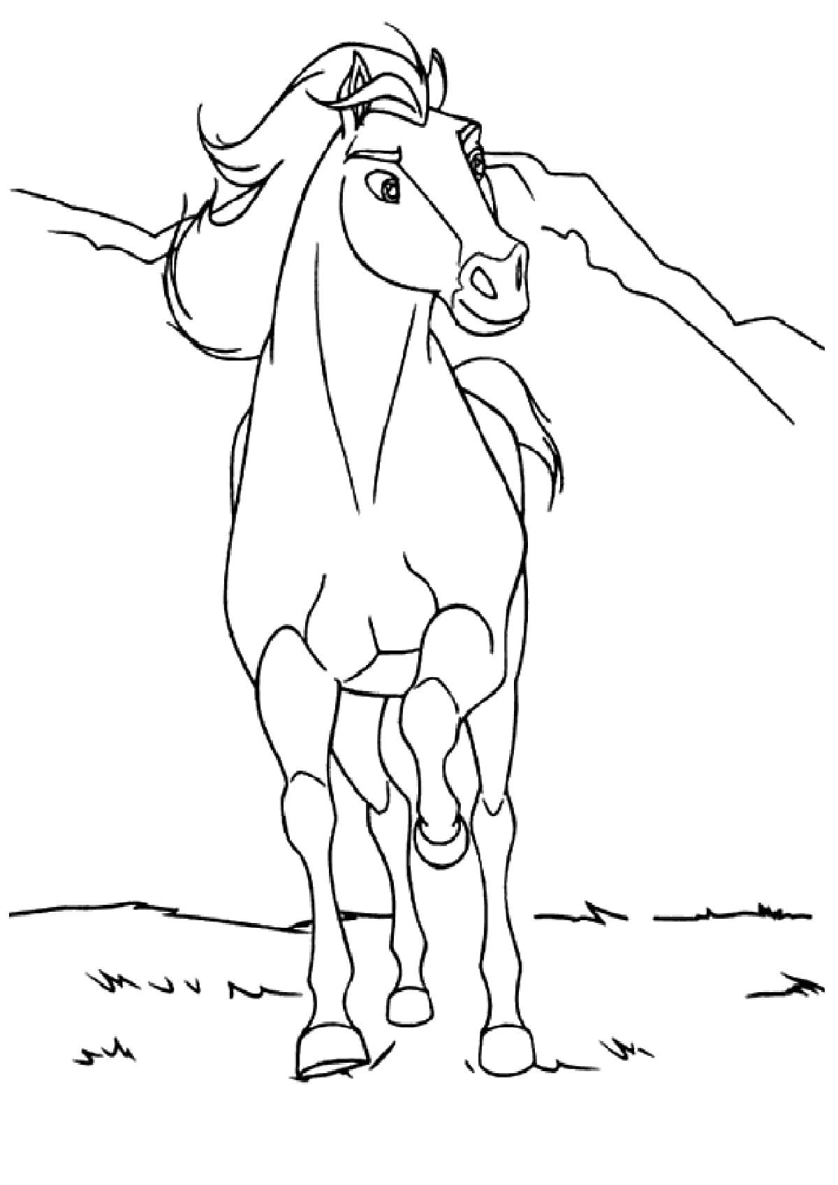 spirit riding free coloring pages 40 new images free