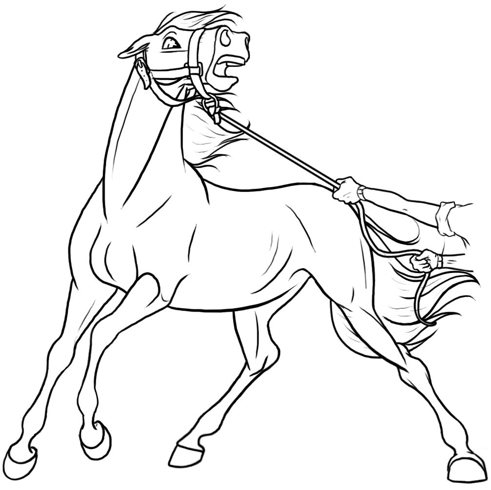 Ausmalbilder Spirit 40 Bilder Von Wilde Mustang Zum Drucken