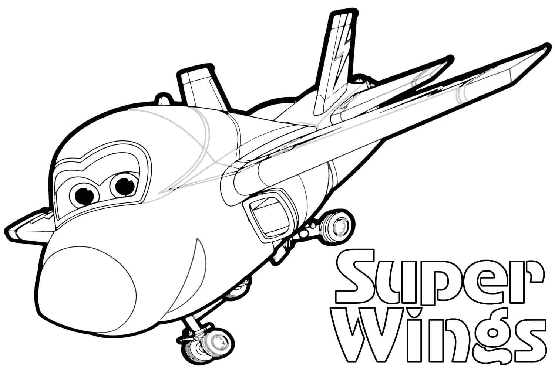 Ausmalbilder Super Wings. 11 Bilder zum kostenlosen Ausdrucken