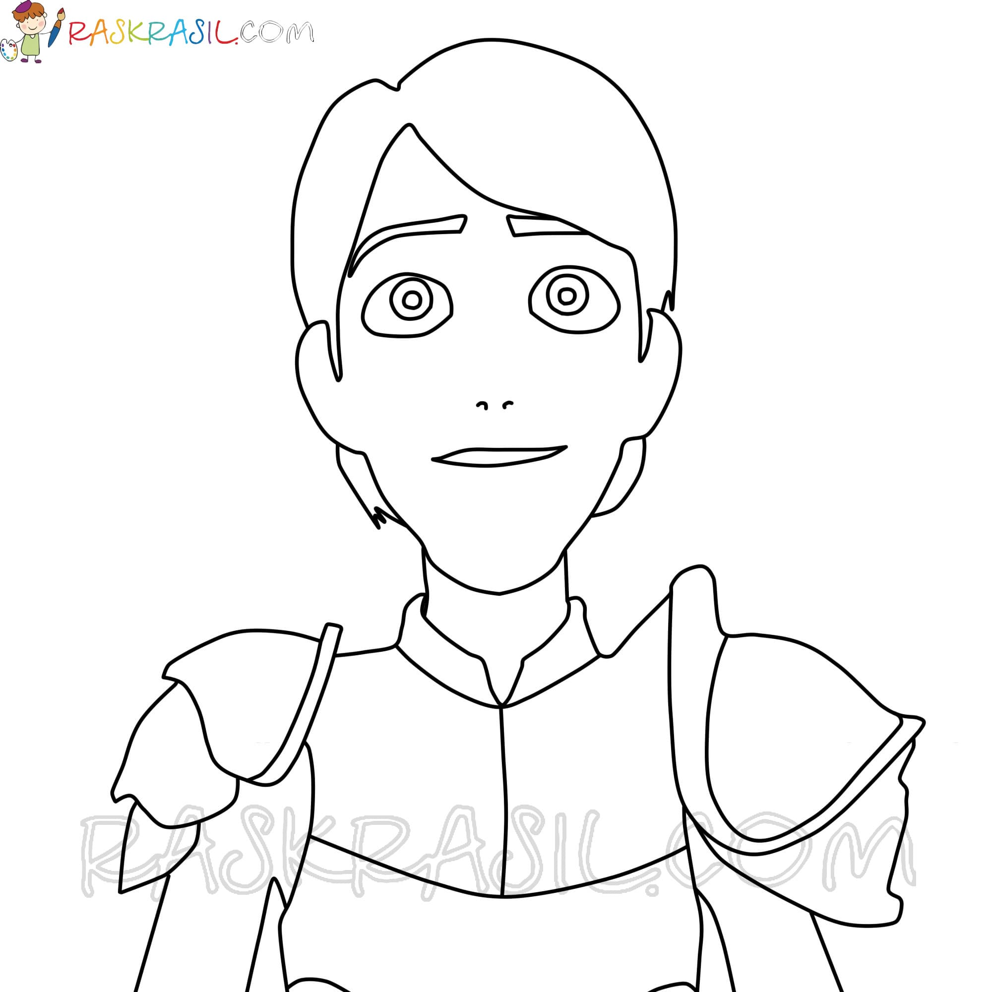 Trollhunters Coloring Pages. 32 Unique Images. Free Printable