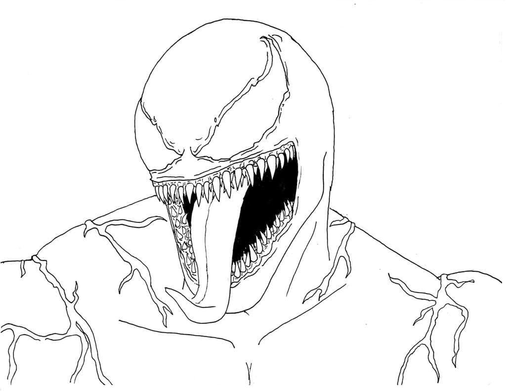 Ausmalbilder Venom 60 Malvorlagen Zum Kostenlosen Drucken