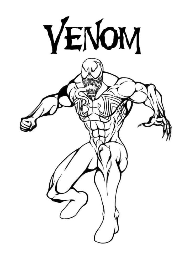 Venom Coloring Pages 60 Coloring Pages Free Printable