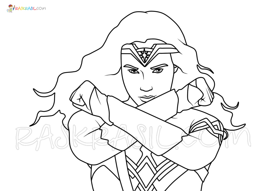 Wonder Woman Coloring Pages 80 New Images Free Printable