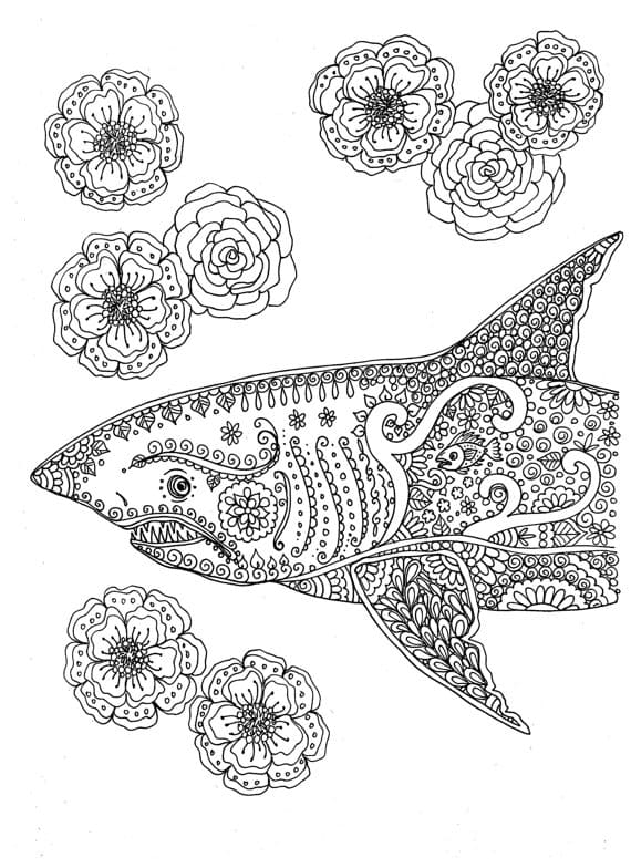 Coloring Pages For Adults. Print Them For Free