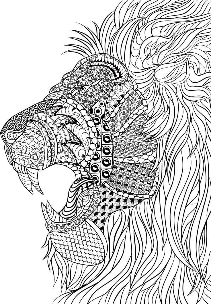 70 Cool Disegni da colorare per Adulti. Stampa gratuita