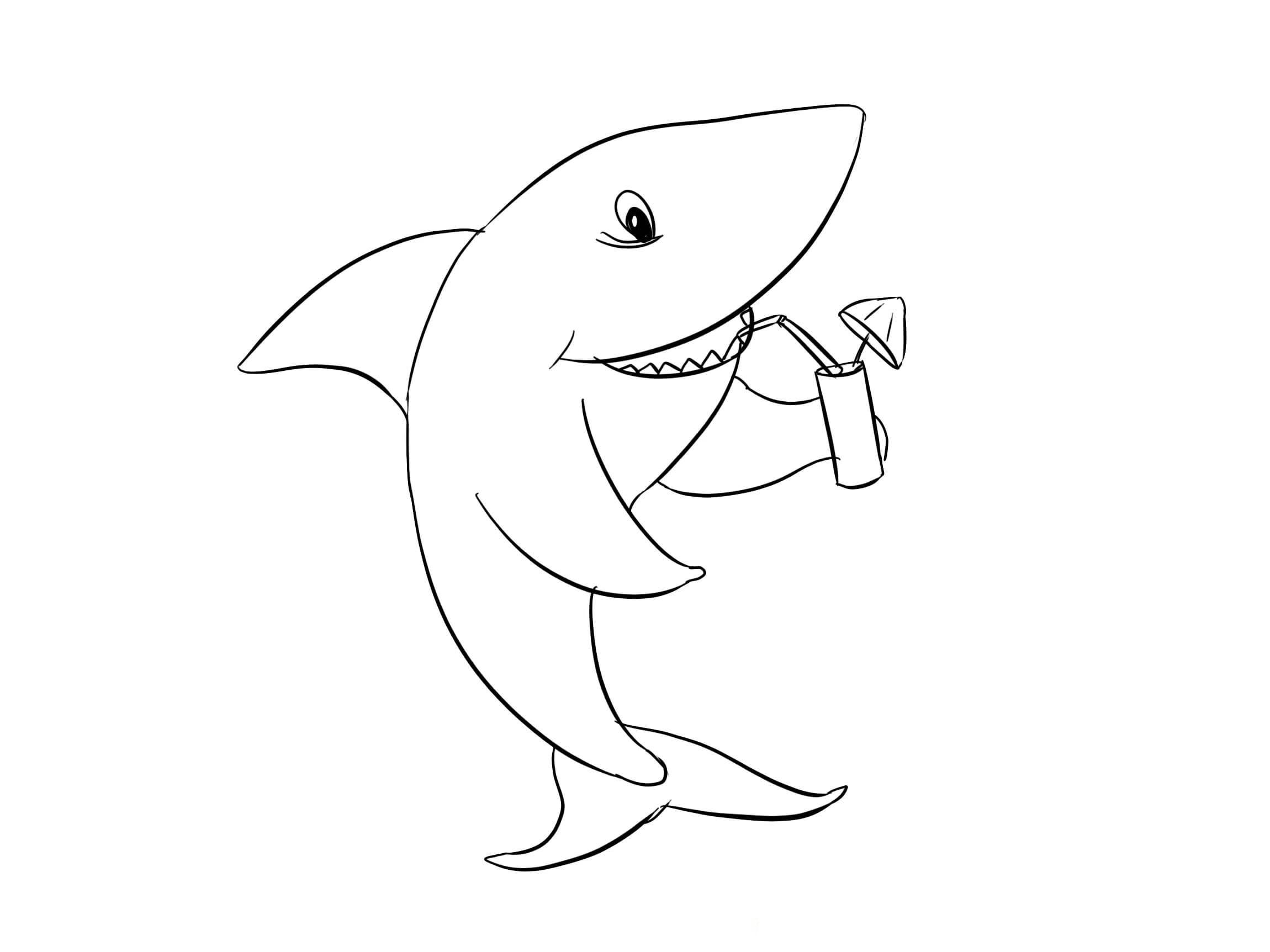 Ausmalbilder Baby Shark  19 Malvorlagen zum kostenlosen Drucken