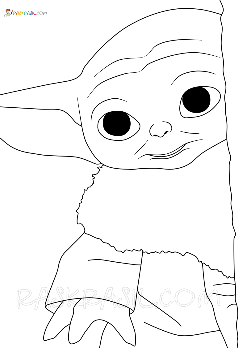 Baby Yoda Coloring Page. 47 Best Pictures Free Printable