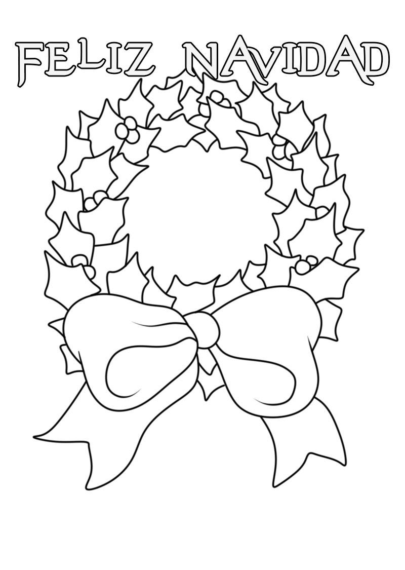 Dibujos De Navidad Para Colorear 140 Nuevas Imagenes Para Imprimir