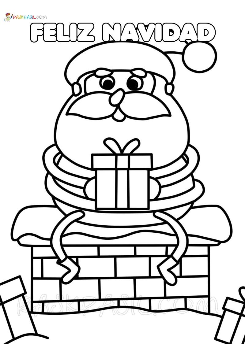 Dibujos De Navidad Para Colorear 140 Nuevas Imágenes Para Imprimir