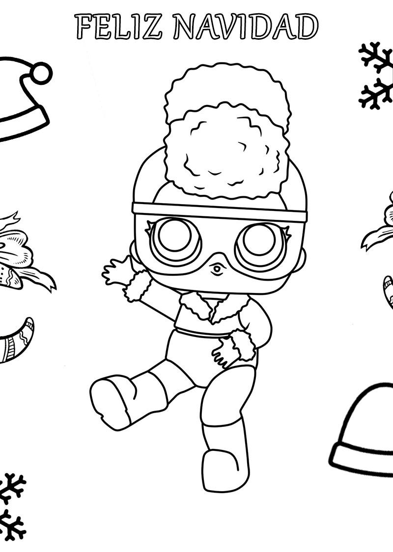 LOL Surprise doll para colorear. ¡Imprime gratis! Toda la serie