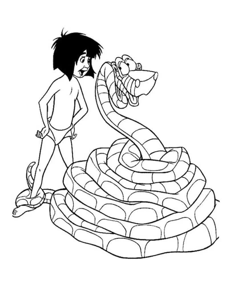 Jungle Book Coloring Pages. Top 10 Images Free Printable