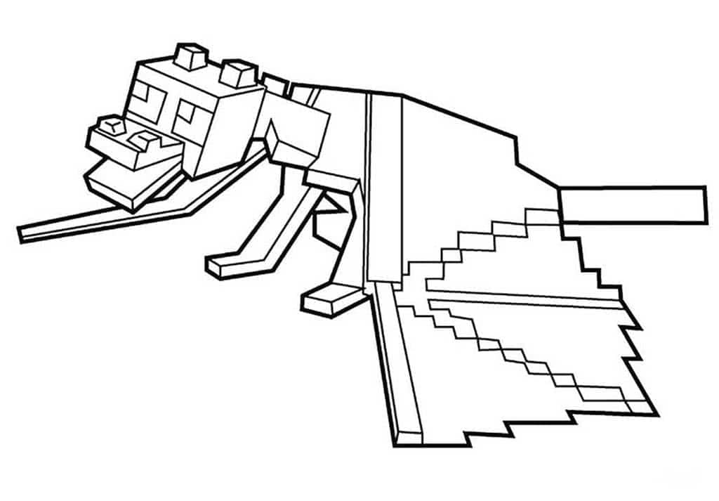 - Minecraft Coloring Pages. Print Them For Free! 100 Pictures From The Game
