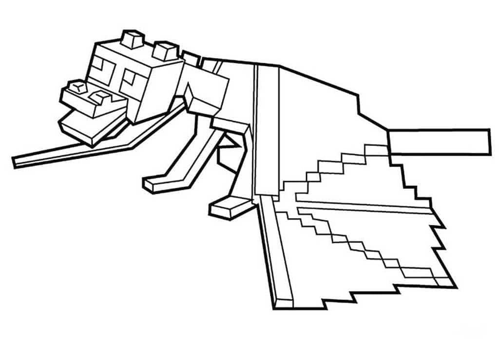 Minecraft dibujos para colorear. Imprímelo gratis! 100 imagenes