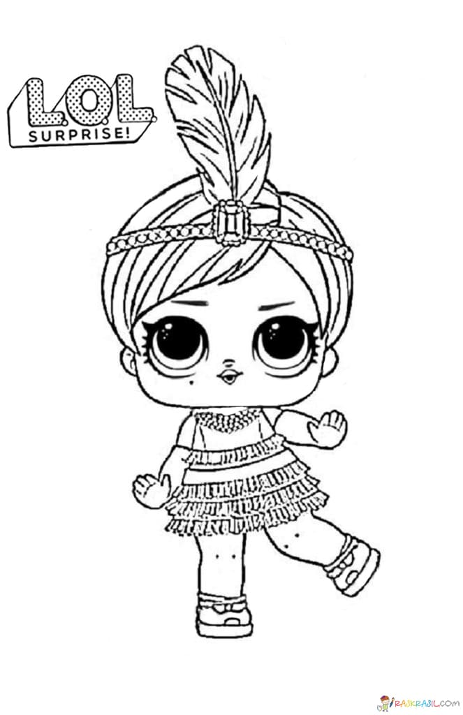 LOL Surprise Dolls Coloring Pages. Print Them for Free! All the Series