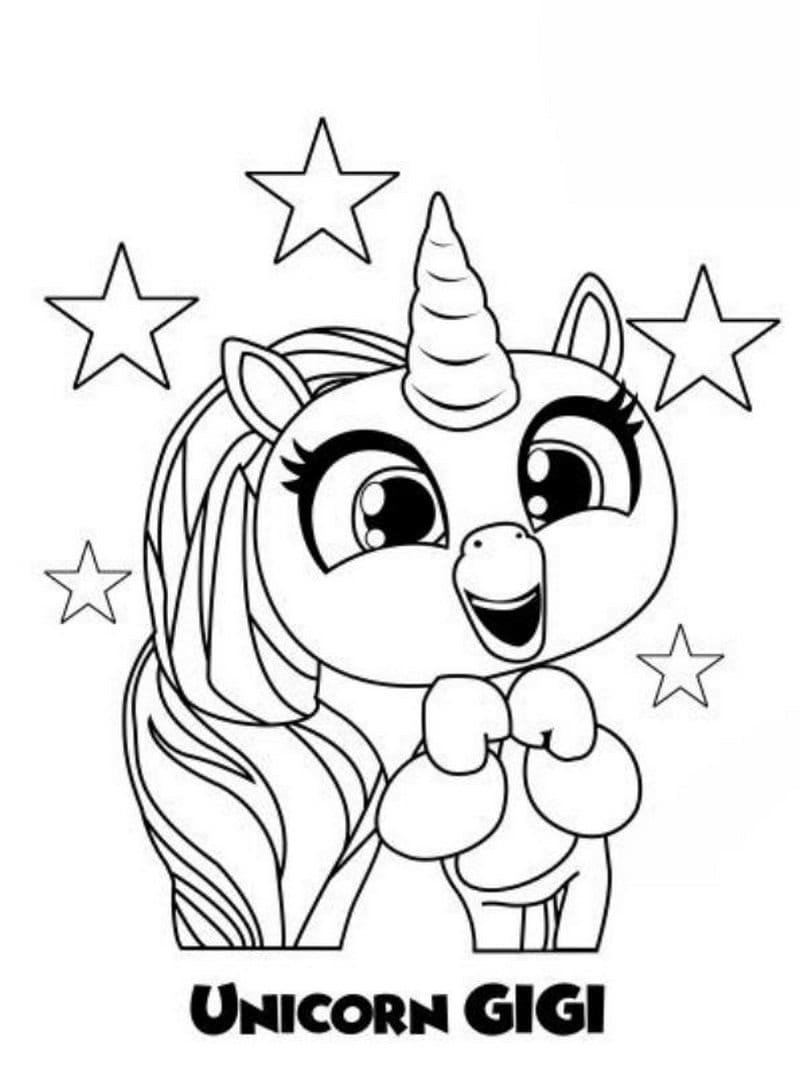 Zoey, variant of Zoe coloring page printable game | 1076x800