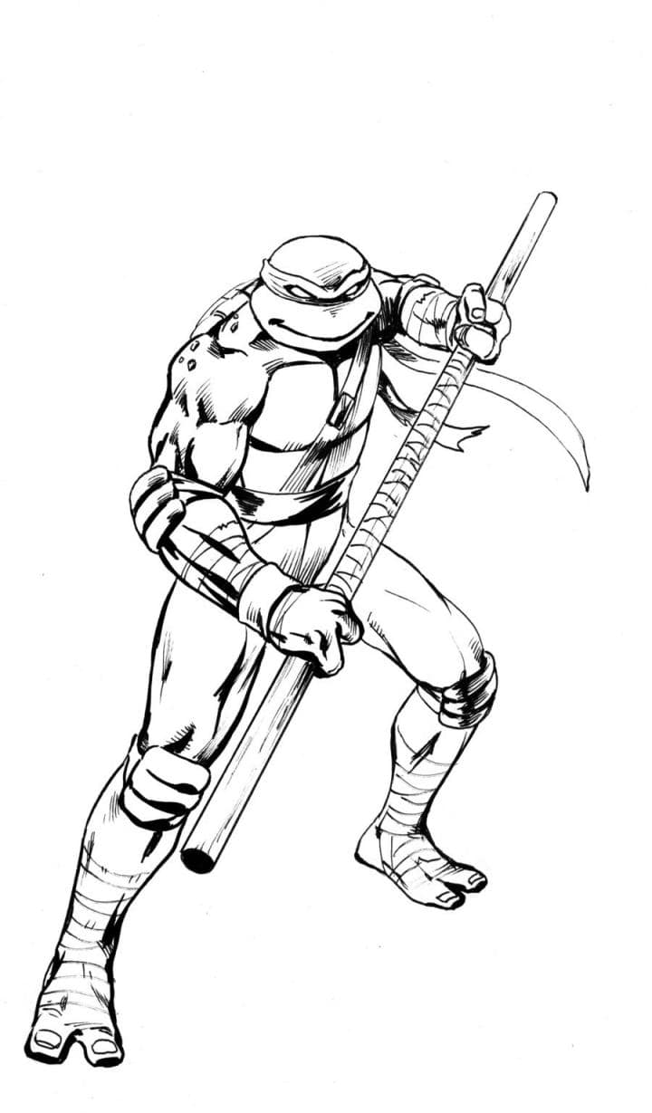 Teenage Mutant Ninja Turtles Coloring Pages. Print Them for Free!