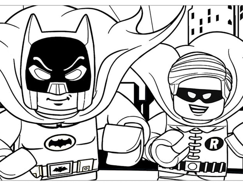 Dibujos de Lego para colorear. Descargar o imprimir gratis