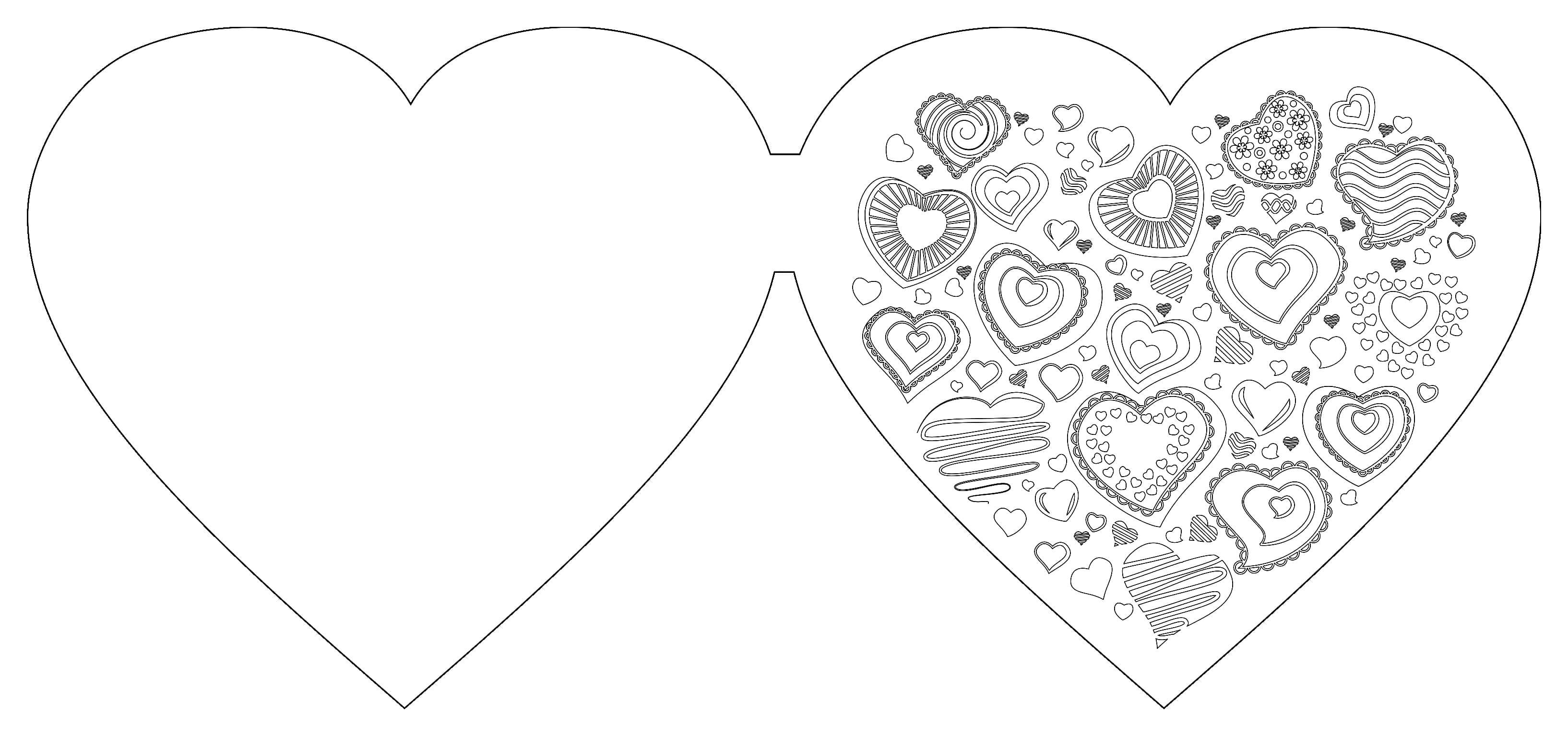 Вмф, открытка форма сердца
