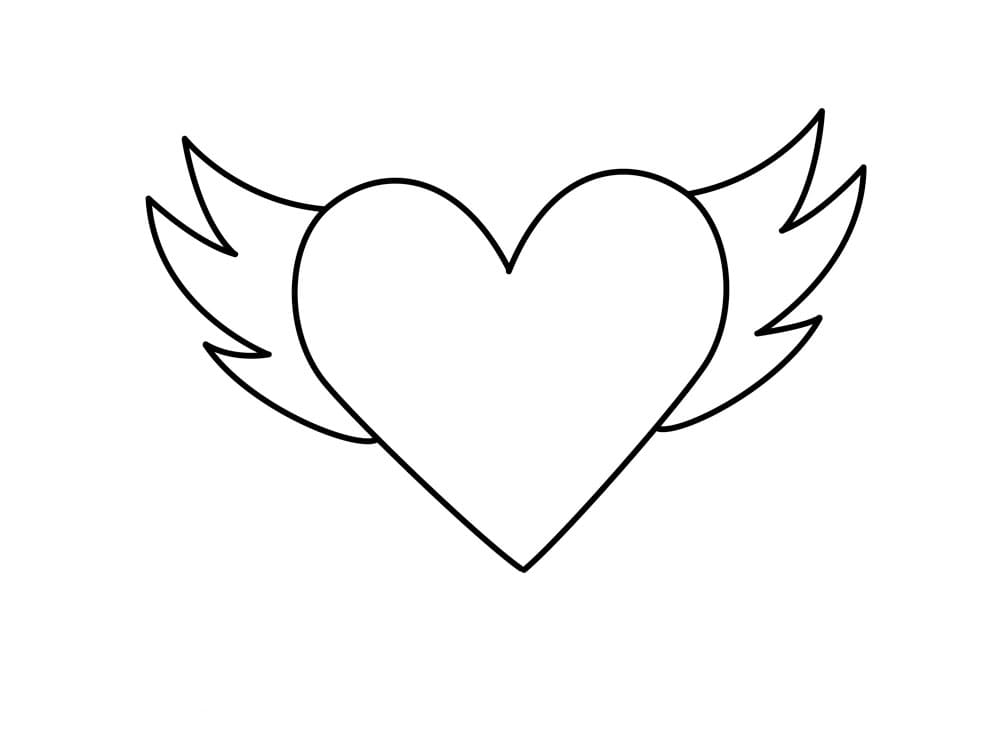 Hearts and Roses coloring page | Free Printable Coloring Pages | 737x1000