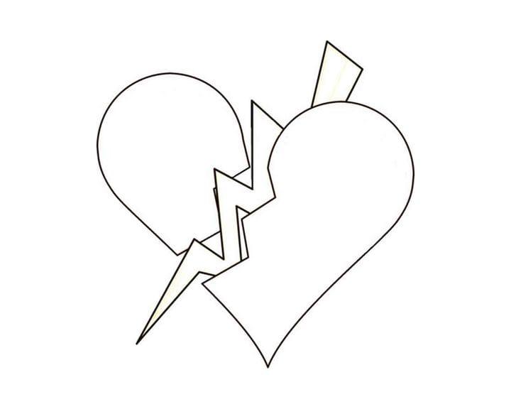 Dibujos para colorear Corazón.Descargar o imprimir gratis