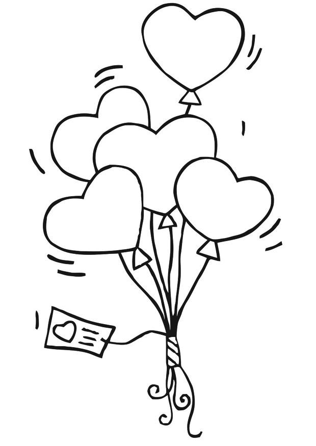 Heart Coloring Pages.90 Pictures. Print Them for Free