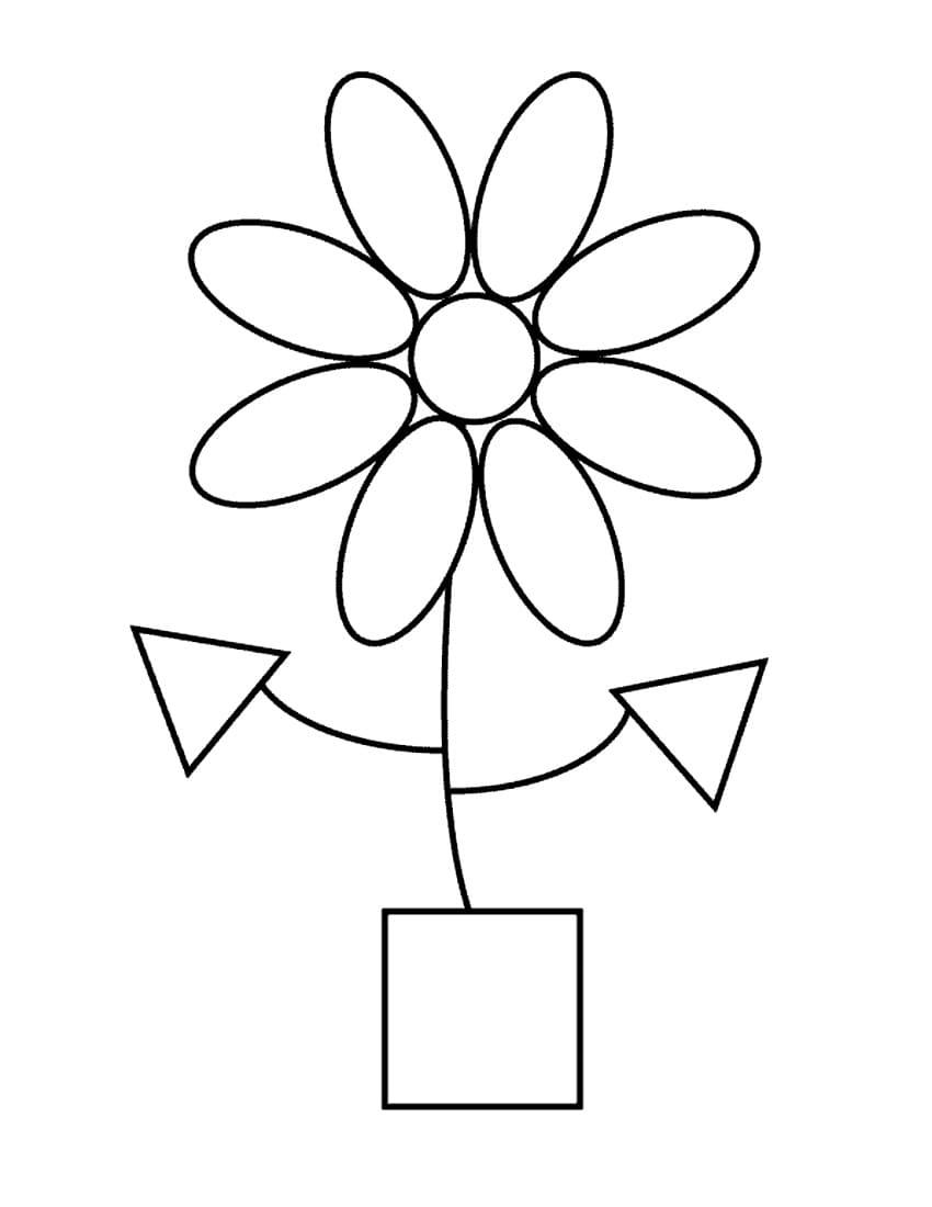 Раскраски Геометрические фигуры. Распечатайте бесплатно для детей