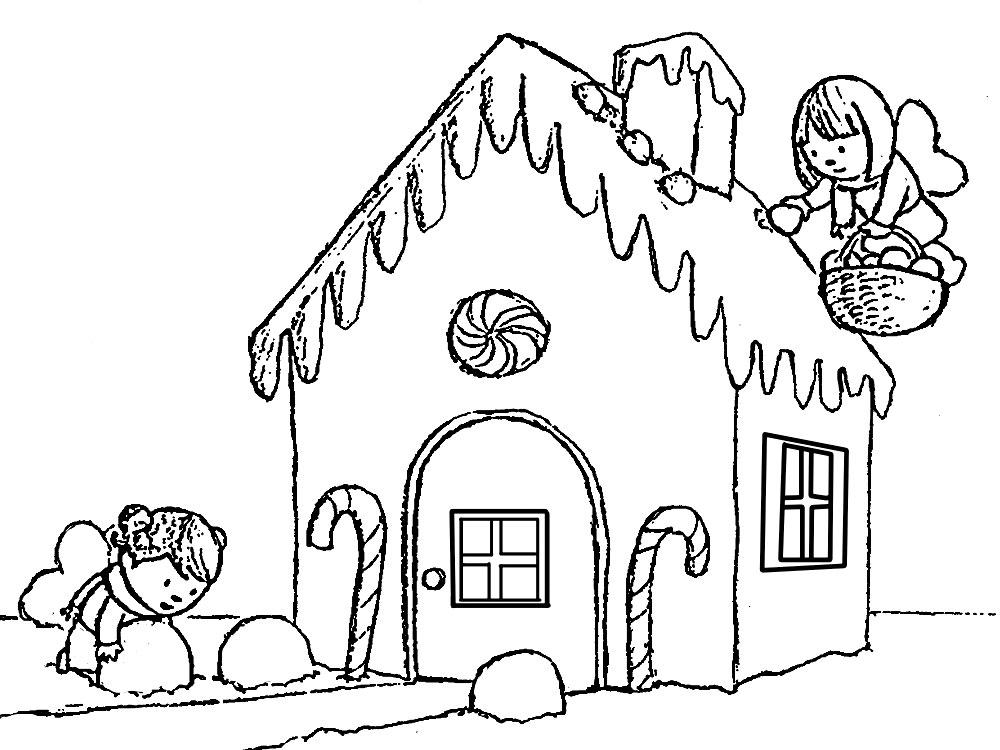 ColoriageMaison. Collection d'images pour la créativité des enfants