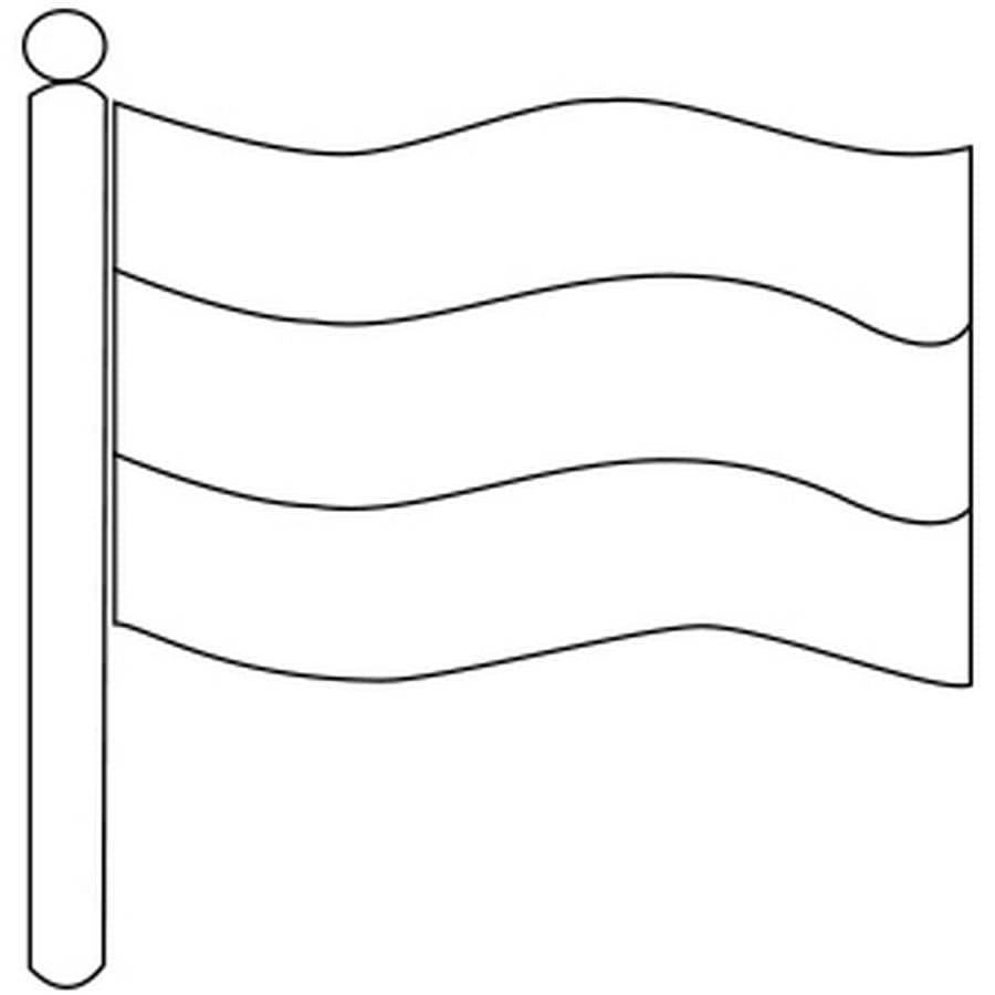 deutsche flagge zum ausmalen