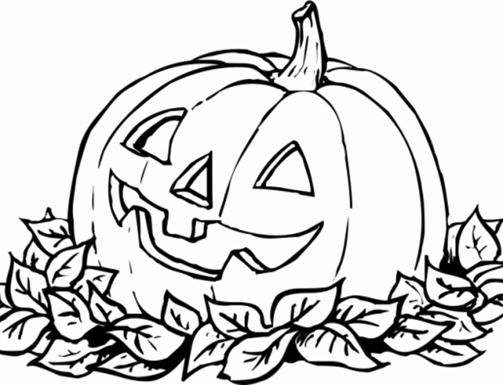 Halloween Coloring Pages for Kids, 100 Pictures. Print Online!
