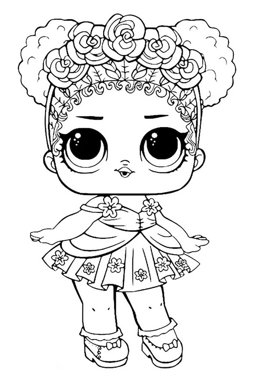 LOL Surprise Sparkle Coloring Pages - 12 Free Printable Coloring ... | 1500x1000