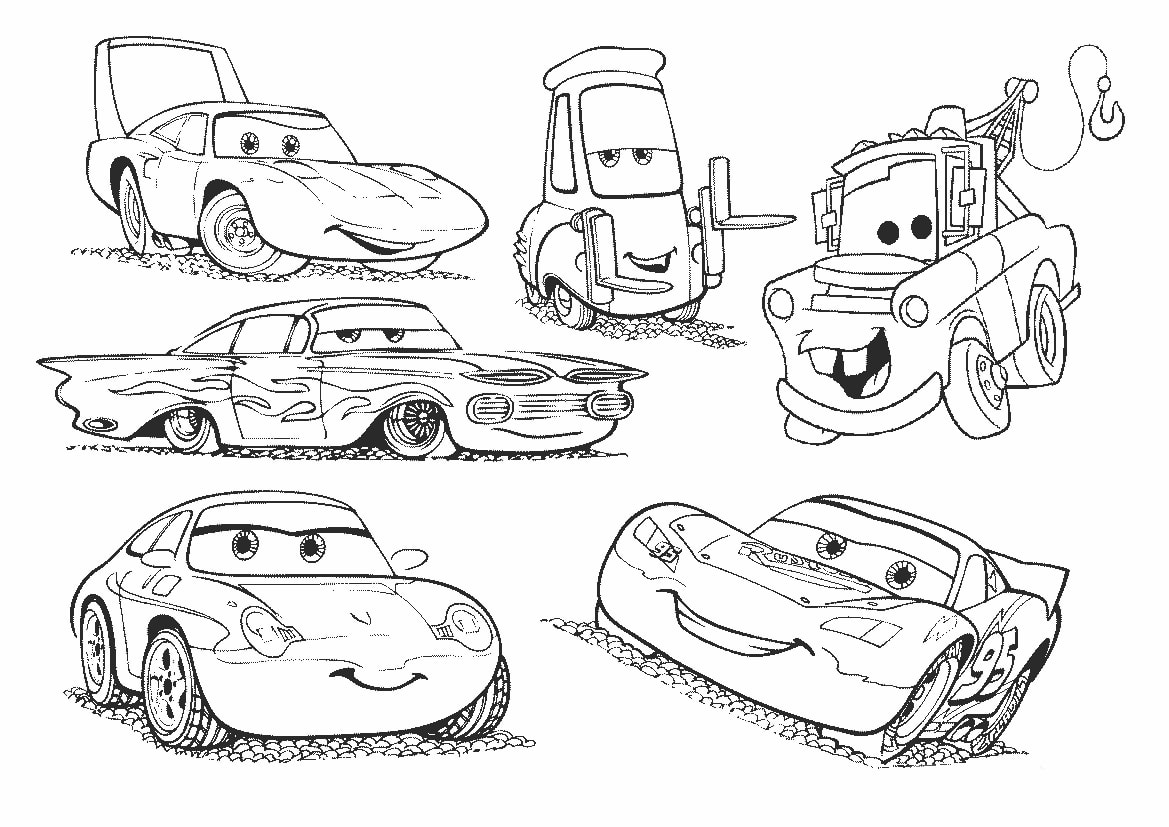 Lightning Mcqueen Coloring Page 80 Images Free Printable